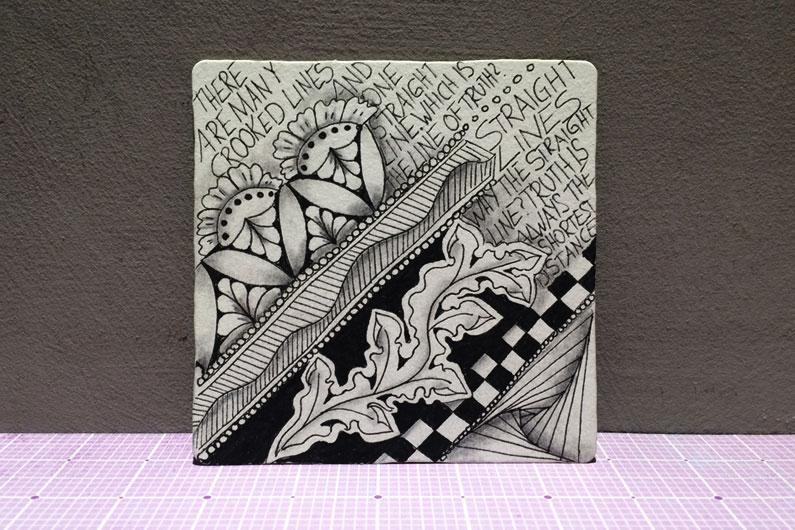 zentangle, zenuari2017, tangle, ink, quote, henna drum, icanthis, knightbridge, paradox, meer,
